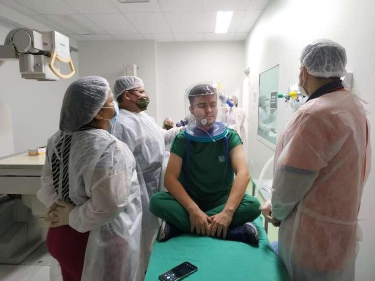 Capacete Elmo: ESP/CE capacita 66 profissionais de saúde da região Norte, em Sobral