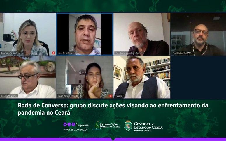 Grupo propõe conjunto de ações para enfrentamento da pandemia no Ceará; Capacete Elmo 2.0 é uma das propostas apresentadas