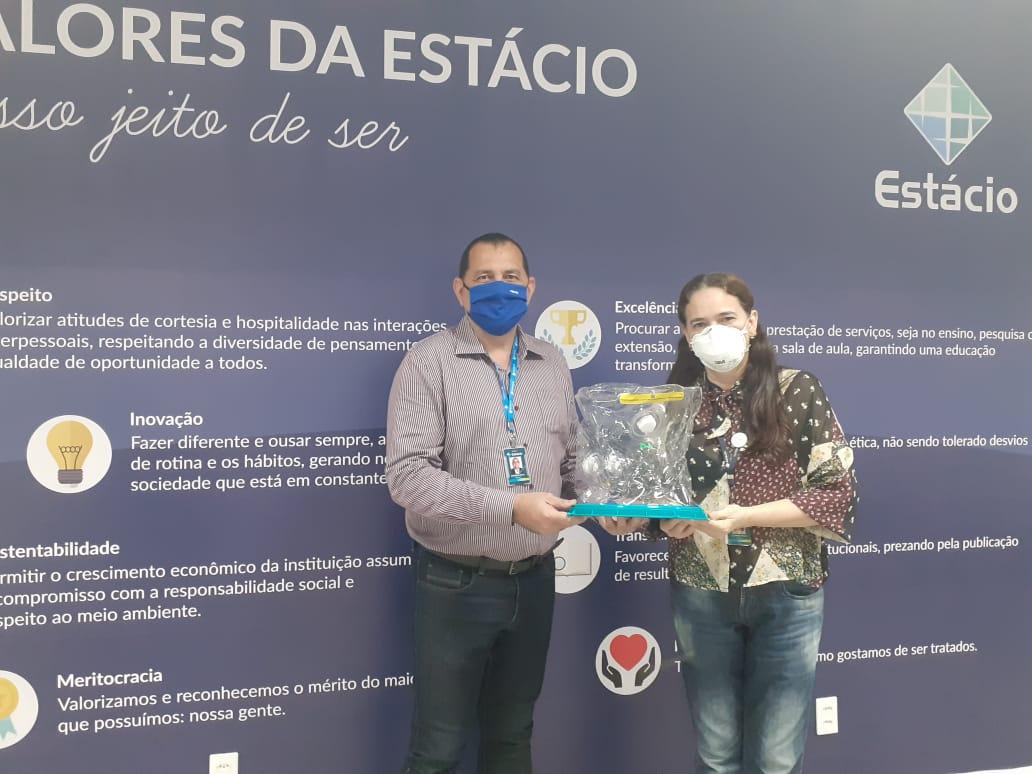 ESP/CE capacitará professores do Centro Universitário Estácio para manejo clínico do capacete Elmo