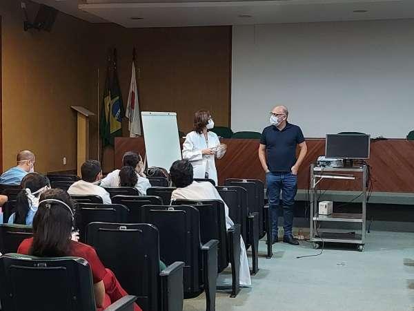 ESP/CE participa de sessão clínica sobre Elmo no Hospital de Messejana